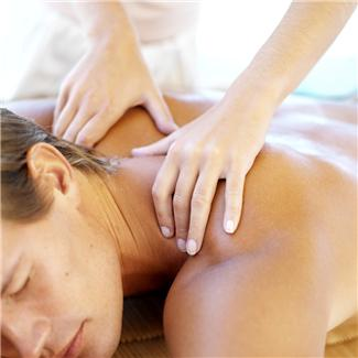 Image of therapeutic massage