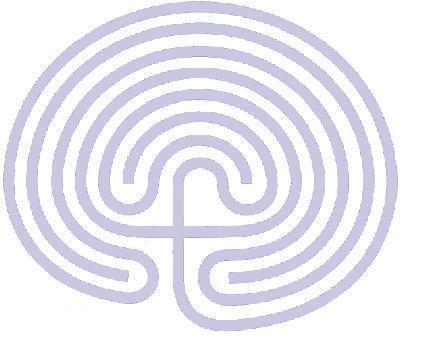Seven Circuit Classical Design Labyrinth